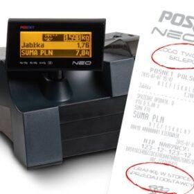 Kasa Fiskalna Posnet Neo XL 2