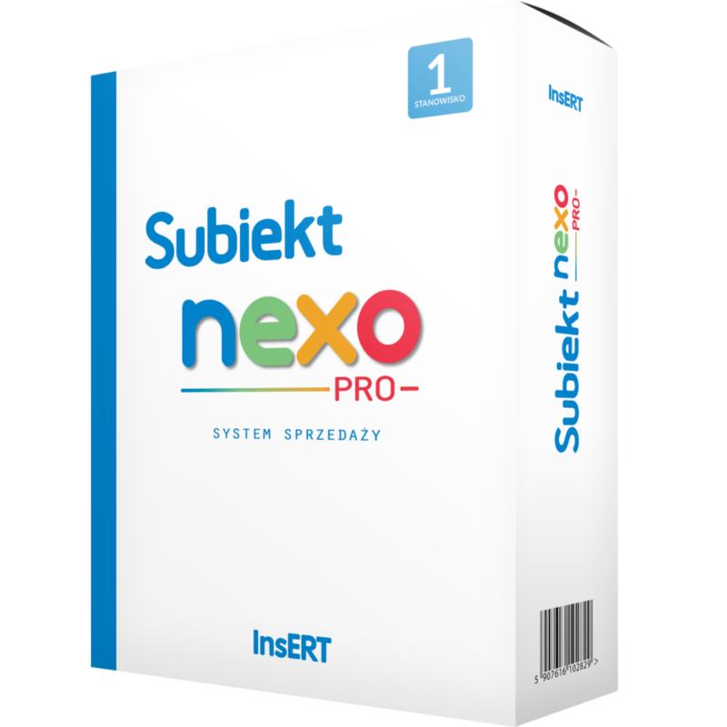 Program sprzedażowy Subiekt Nexo