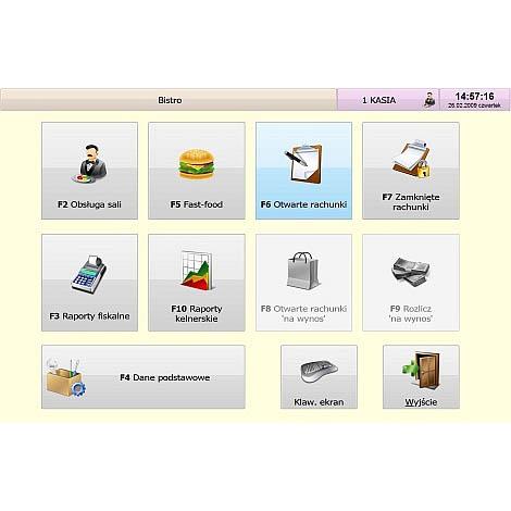 Zrzut 01 Program Sprzedażowy Symplex Small Business Bistro | Kasy I Drukarki Fiskalne Online, Wagi, Oprogramowanie, Serwis.