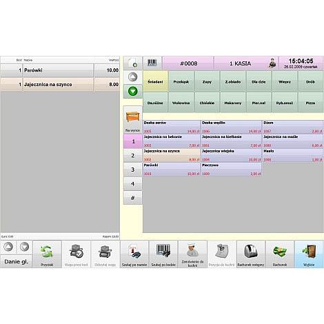 Zrzut 03 Program Sprzedażowy Symplex Small Business Bistro | Kasy I Drukarki Fiskalne Online, Wagi, Oprogramowanie, Serwis.