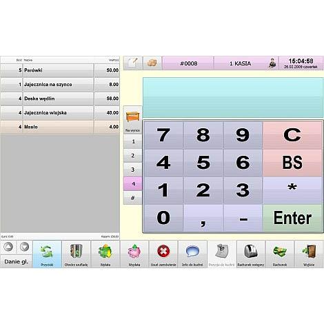 Zrzut 04 Program Sprzedażowy Symplex Small Business Bistro | Kasy I Drukarki Fiskalne Online, Wagi, Oprogramowanie, Serwis.
