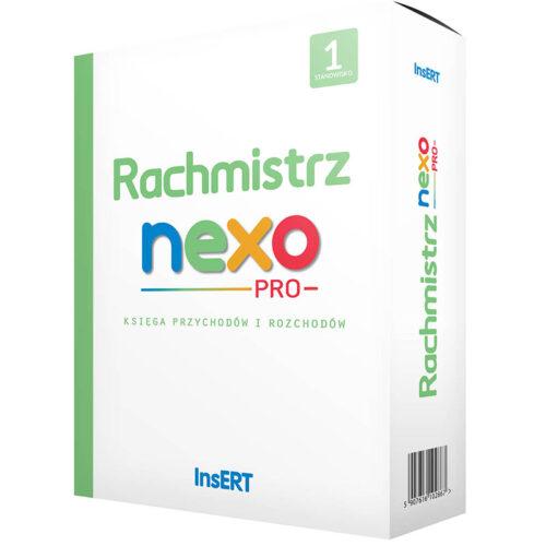 Rachmistrz Nexo Pro 1 Stanowisko Pudelko Kopia Program Insert Rachmistrz Nexo Pro | Kasy I Drukarki Fiskalne Online, Wagi, Oprogramowanie, Serwis.